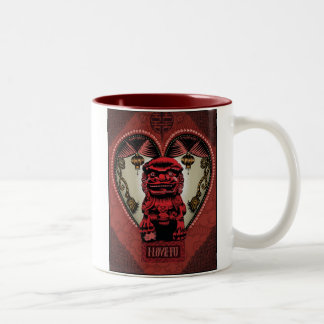 i Love Fu mug by Q.