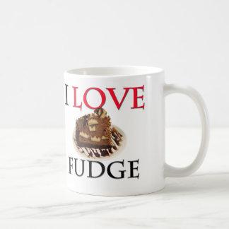I Love Fudge Coffee Mug