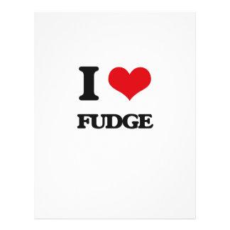 "I love Fudge 8.5"" X 11"" Flyer"