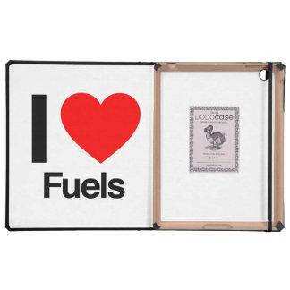 i love fuels iPad folio cases
