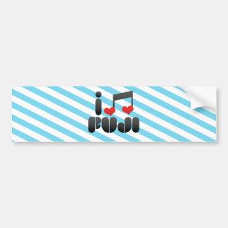 I Love Fuji Bumper Stickers