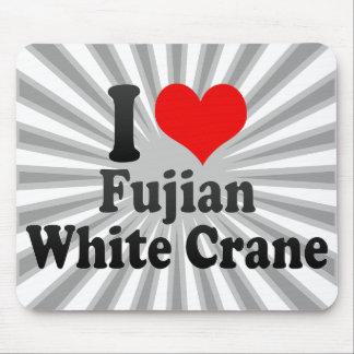 I love Fujian White Crane Mouse Pads