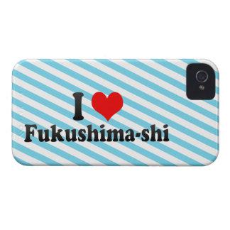 I Love Fukushima-shi, Japan iPhone 4 Cover