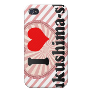 I Love Fukushima-shi, Japan iPhone 4/4S Covers
