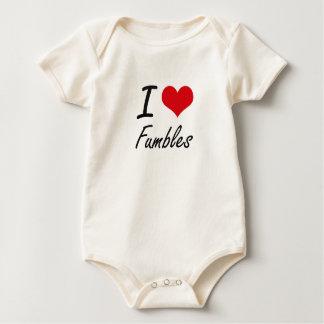 I love Fumbles Baby Bodysuit
