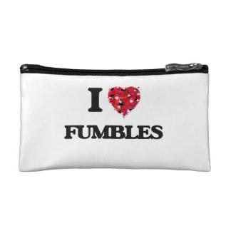 I Love Fumbles Cosmetic Bag
