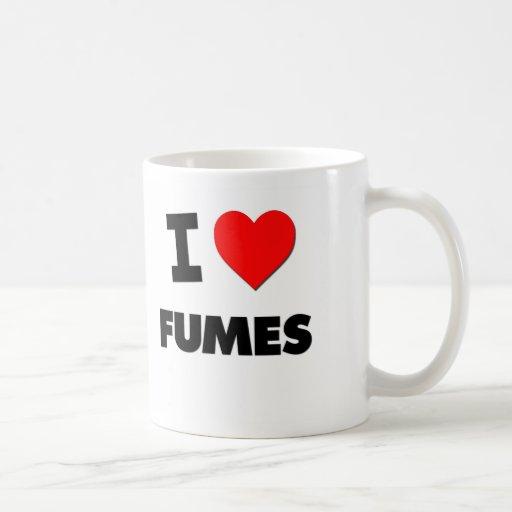 I Love Fumes Classic White Coffee Mug