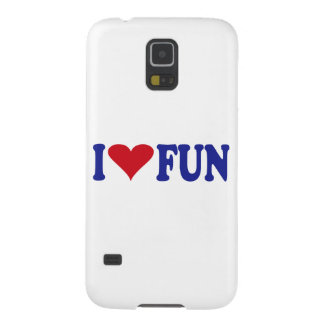 I Love Fun Case For Galaxy S5