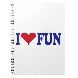 I Love Fun Notebook