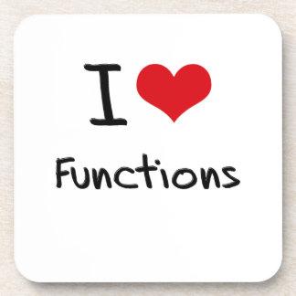 I Love Functions Coaster