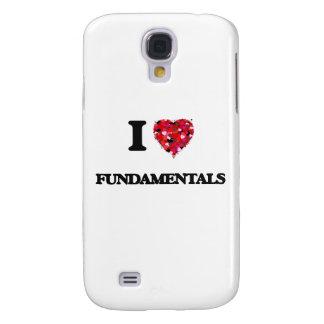 I Love Fundamentals Galaxy S4 Covers
