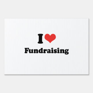 fundraising signs