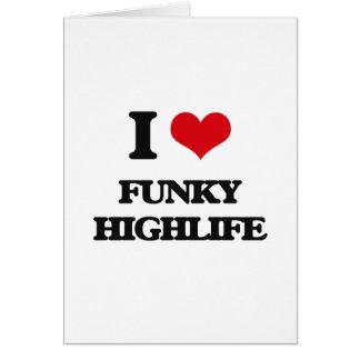 I Love FUNKY HIGHLIFE Card