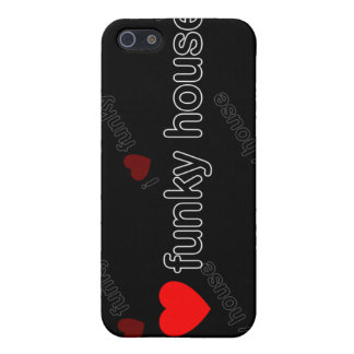 I Love Funky House DJ and Music i Case For iPhone 5