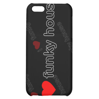 I Love Funky House DJ and Music i iPhone 5C Cases