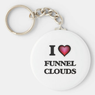 I love Funnel Clouds Keychain