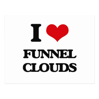 I love Funnel Clouds Post Cards