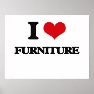 I love Furniture Posters