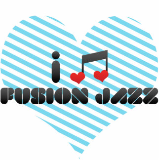 I Love Fusion Jazz Acrylic Cut Out