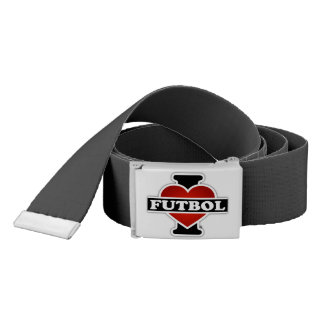 I Love Futbol Belt