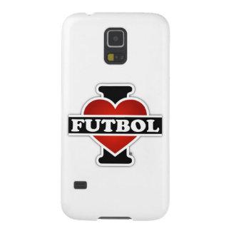 I Love Futbol Galaxy S5 Case