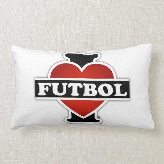 I Love Futbol Lumbar Pillow