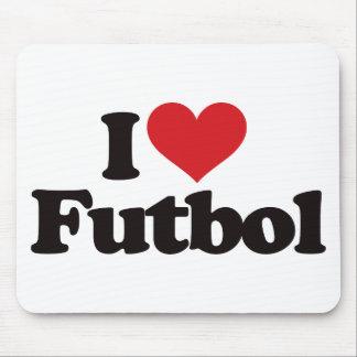 I Love Futbol Mouse Pad