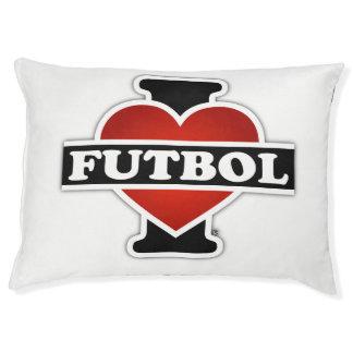 I Love Futbol Pet Bed