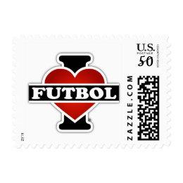 I Love Futbol Postage