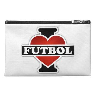 I Love Futbol Travel Accessories Bags