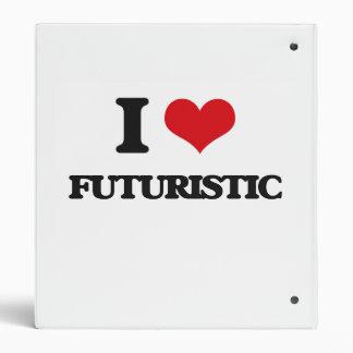 I love Futuristic Vinyl Binders