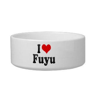 I Love Fuyu, China Cat Bowls