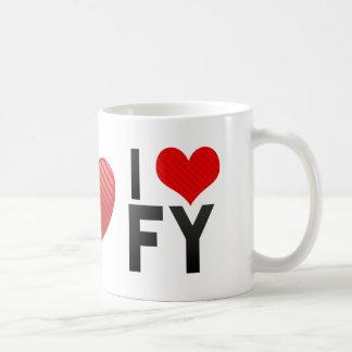 I Love FY Coffee Mug