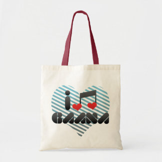 I Love Gaana Canvas Bags