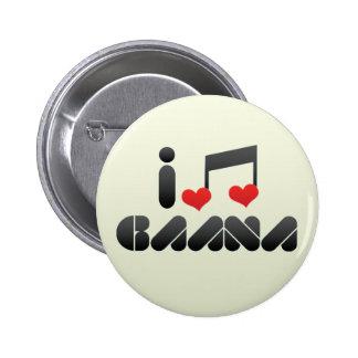 I Love Gaana Button