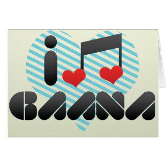 I Love Gaana Card