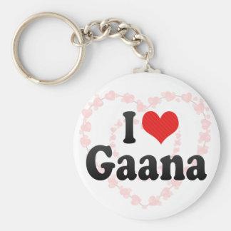 I Love Gaana Key Chains