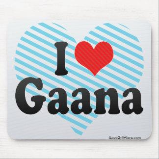 I Love Gaana Mouse Pad