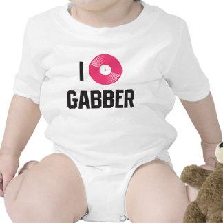 I love Gabber Baby Creeper