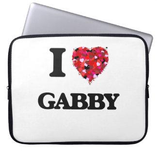 I Love Gabby Computer Sleeves