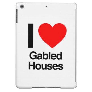 i love gabled houses iPad air cover