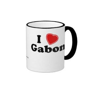 I Love Gabon Mug