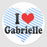 I Love Gabrielle Sticker