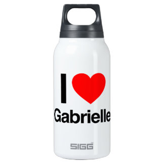 i love gabriellle 10 oz insulated SIGG thermos water bottle