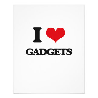 I love Gadgets Full Color Flyer