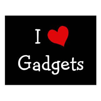 I Love Gadgets Postcard