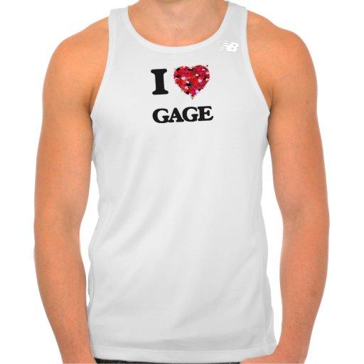 I Love Gage Shirts Tank Tops, Tanktops Shirts