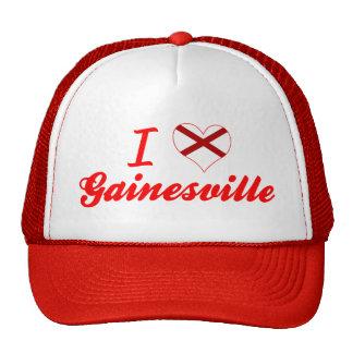 I Love Gainesville, Alabama Mesh Hat