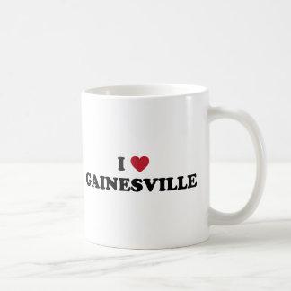 I Love Gainesville Florida Classic White Coffee Mug