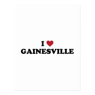 I Love Gainesville Florida Post Cards